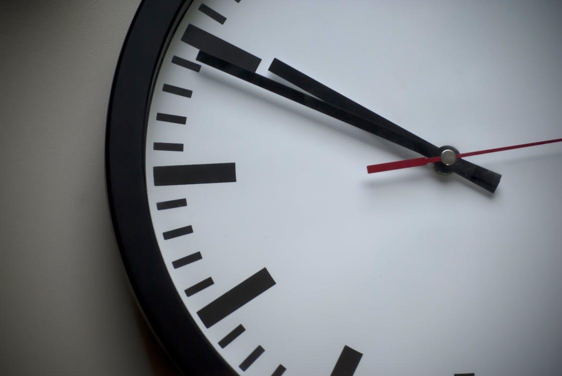 Tijd uitzitten deadlines