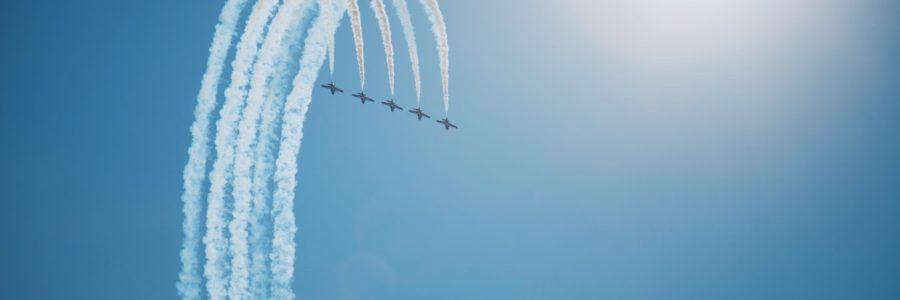 5 vliegtuigen - 5 populaire vacatures