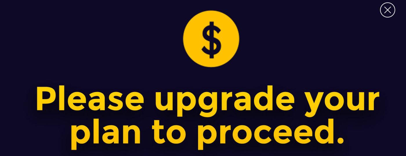upgrade to proceed - netneutraliteit