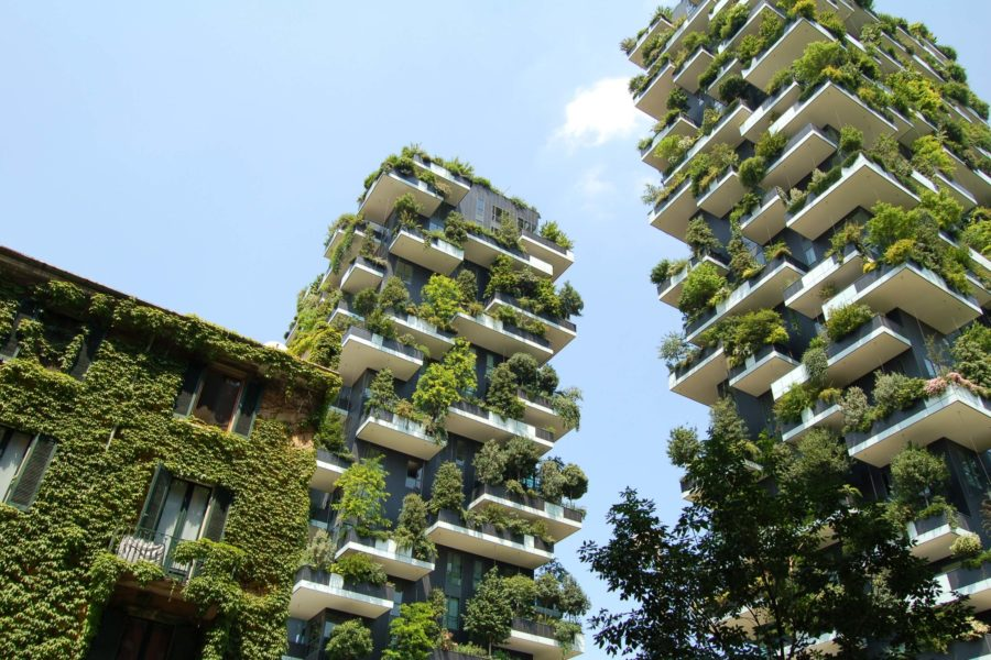 Office buildings green