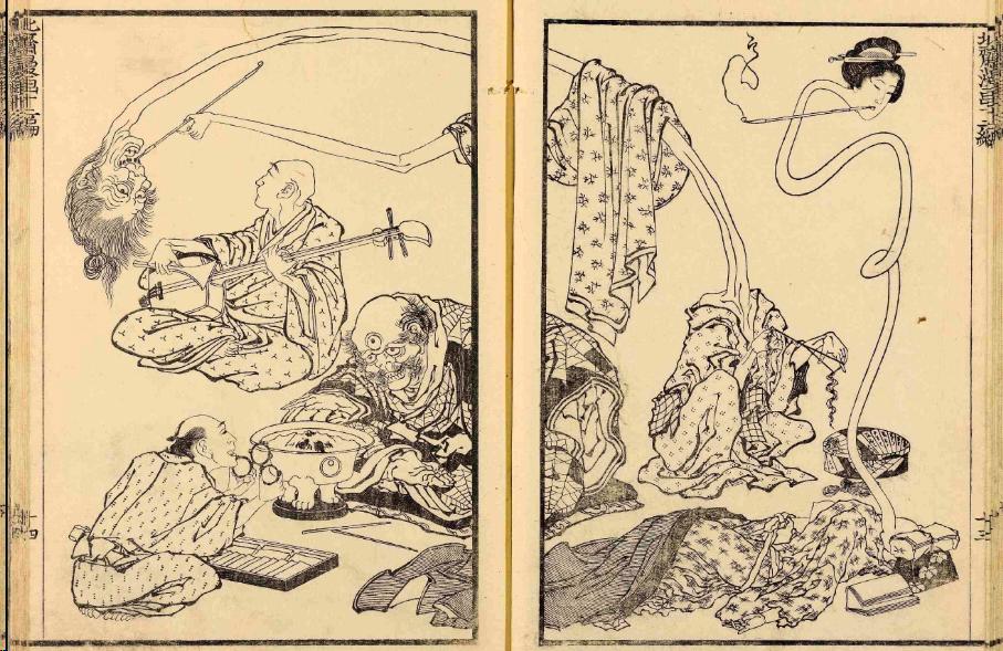 Hokusai-Manga-print
